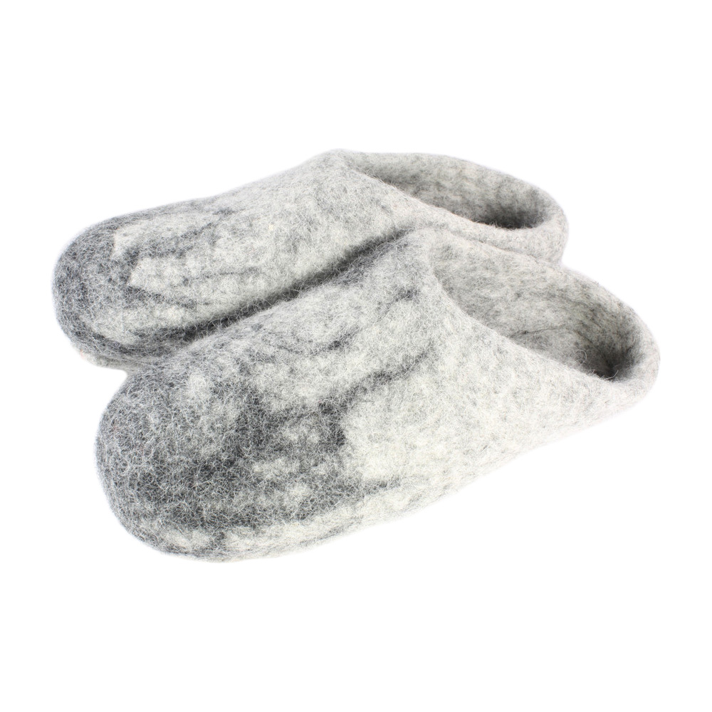Men\'s Felted Wool Slide Slippers
