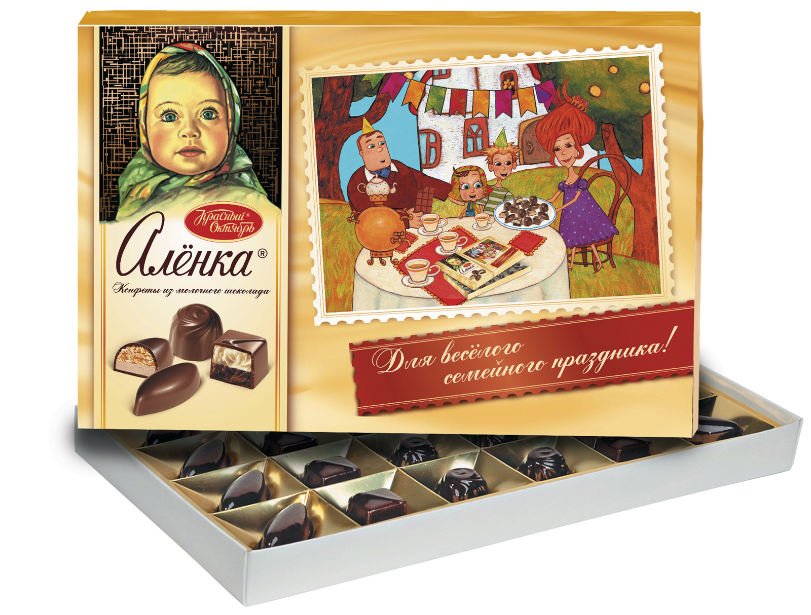 Krasny Oktyabr Chocolate Candies