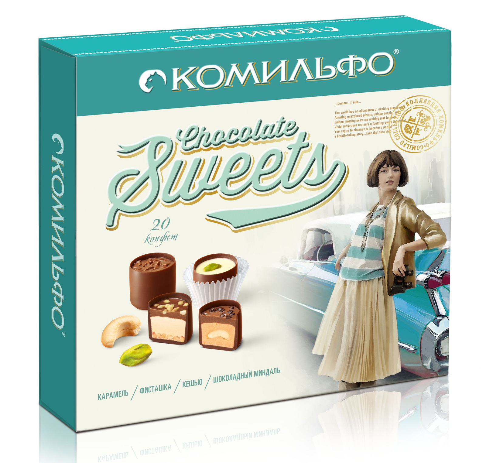 Nestle Chocolate Sweets | Russian Legacy