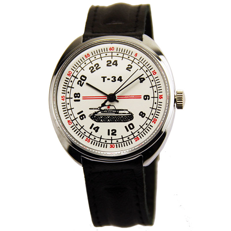 Russian watches and clocks - 'Т-34' Wrist Watch - Raketa' Wrist Watches
