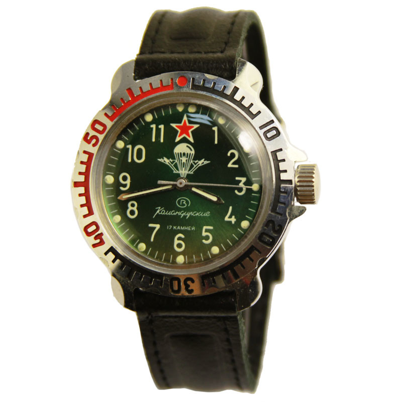 Russian watches and clocks - 'Paratrooper' Mechanical Watch - Vostok' Wrist Watches