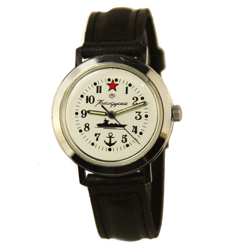 Russian watches and clocks - 'Admiral's' Mechanical Watch - Vostok' Wrist Watches