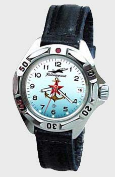 Russian watches and clocks - 'Naval Air Force' Mechanical Watch - Vostok' Wrist Watches