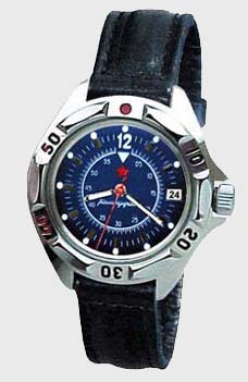 Russian watches and clocks - 'Chronograph' Mechanical Watch - Vostok' Wrist Watches