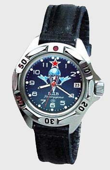 Russian watches and clocks - 'Paratrooper Forces' Mechanical Watch - Vostok' Wrist Watches