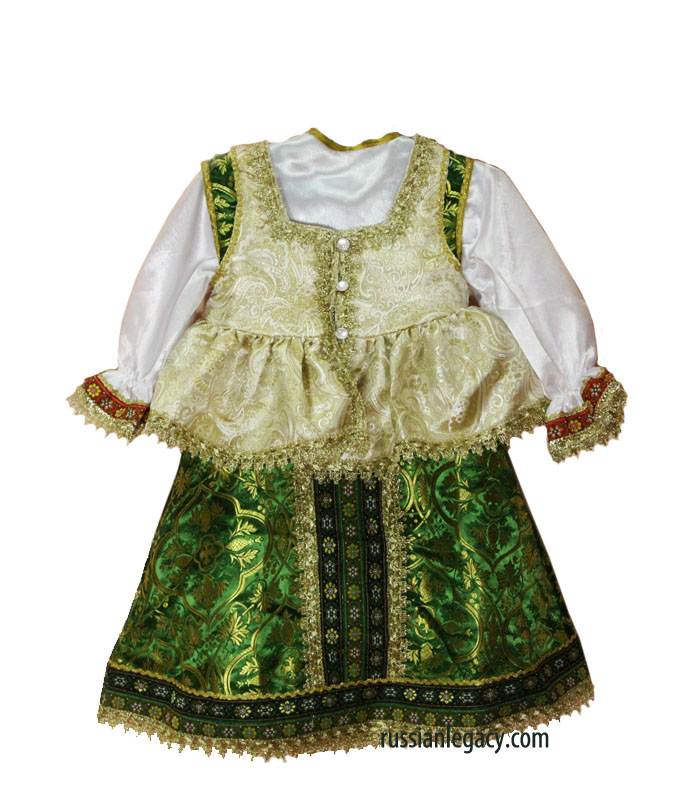 Kindergarten Russian Folk Dress