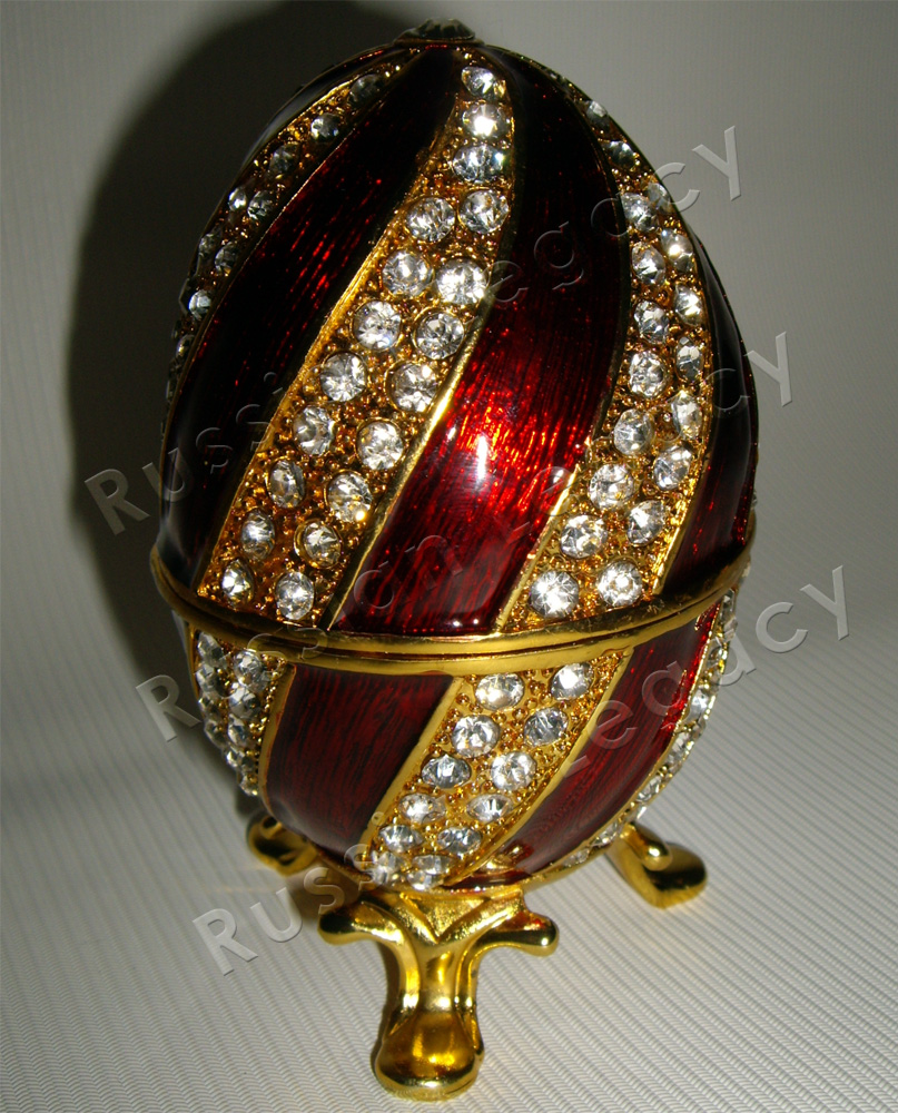 'St. Basil's Cathedral' Faberge Style Egg