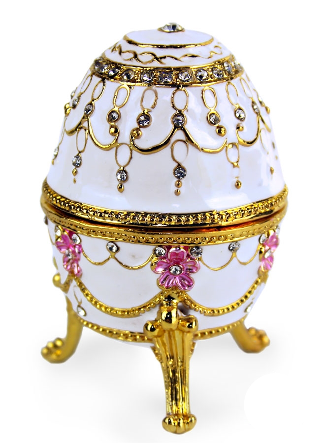 Royal Faberge Style Egg Russian Legacy