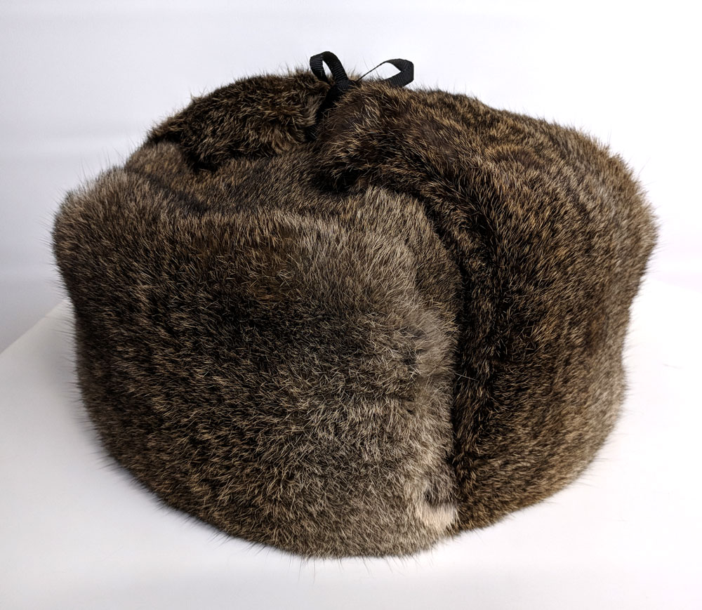 Rabbit Fur Russian Trapper Hat