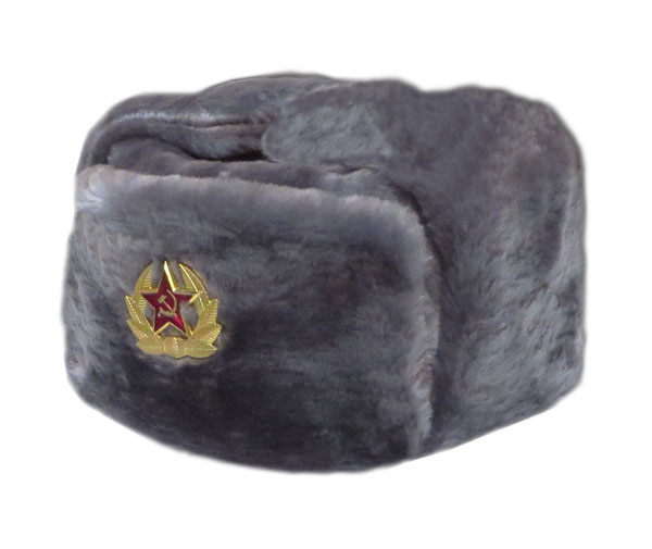 Faux Fur Russian Trapper Hat