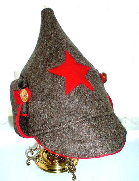 """Budenovka (Budyonovka)"" Red Army Hat"