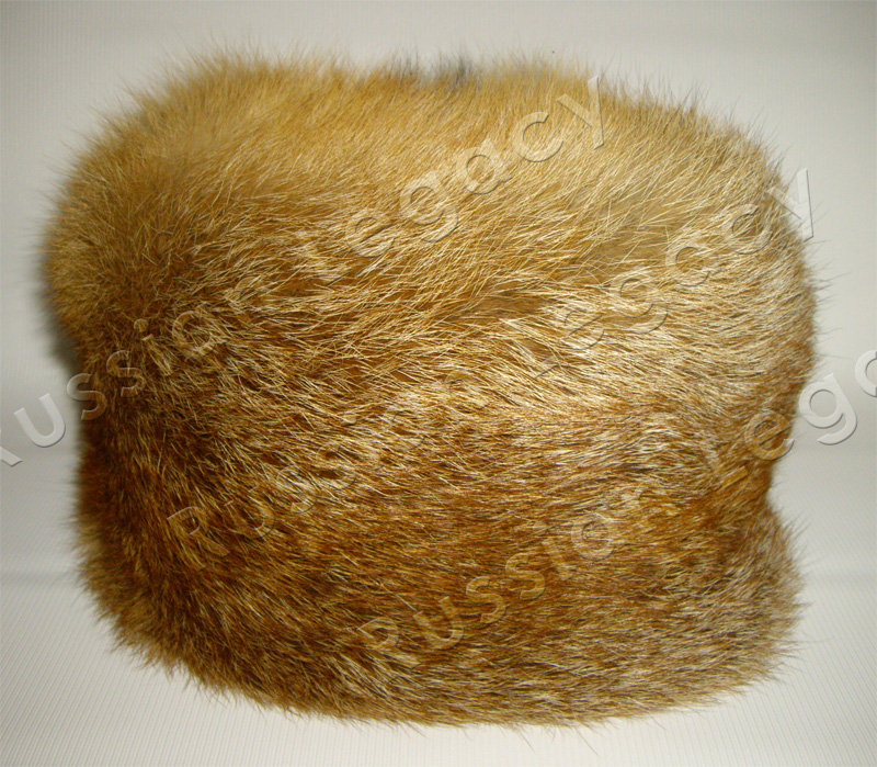 Red Fox Fur Hat