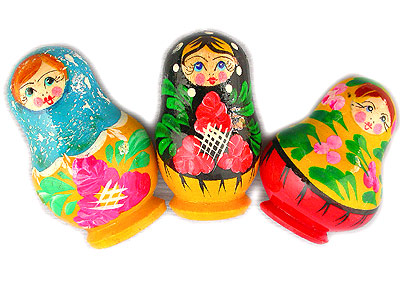 Nesting Doll Fridge Magnet