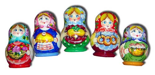Matryoshka Fridge Magnet