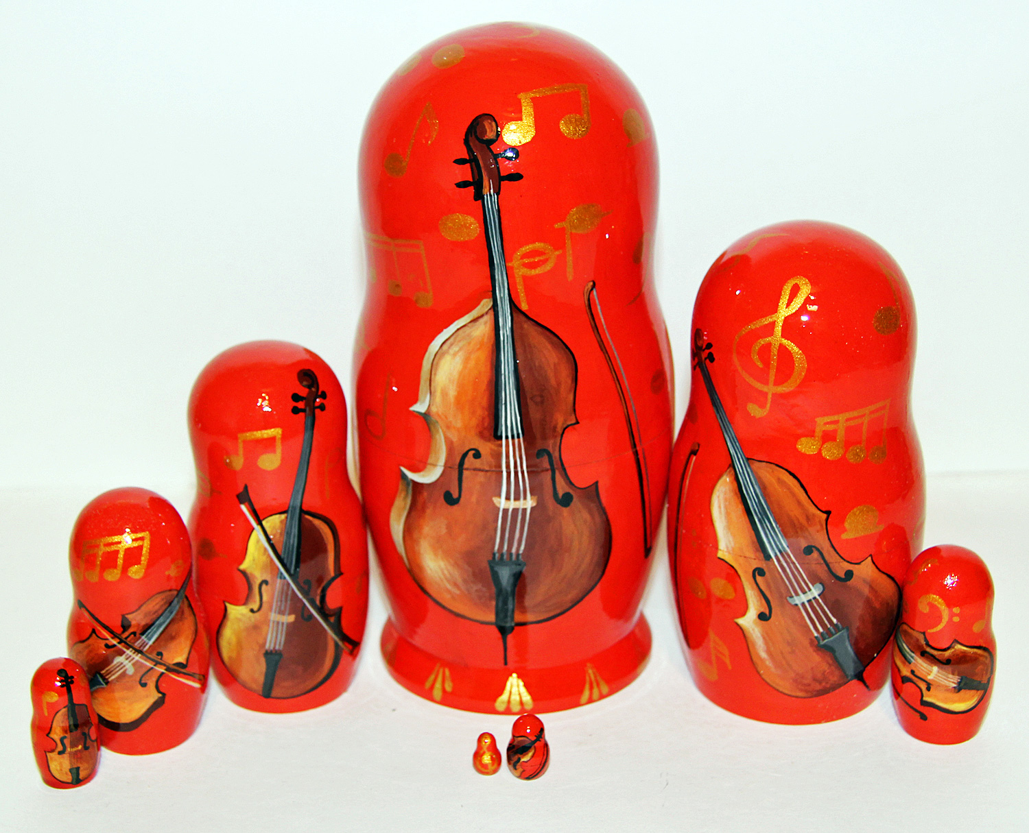 Custom Cello Russian Doll