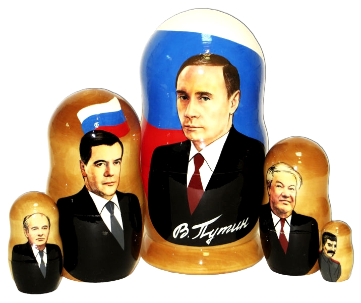 Soviet & Russian Leaders Doll
