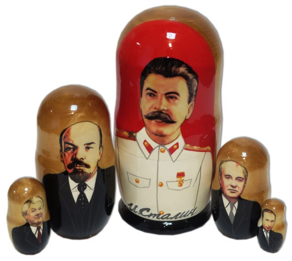 Russian Leaders Nesting Doll