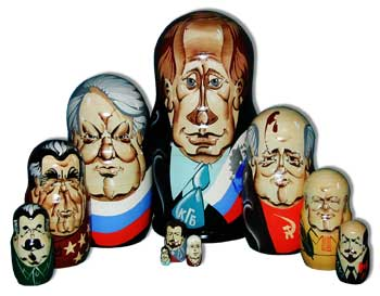 10 Russian Leaders Doll