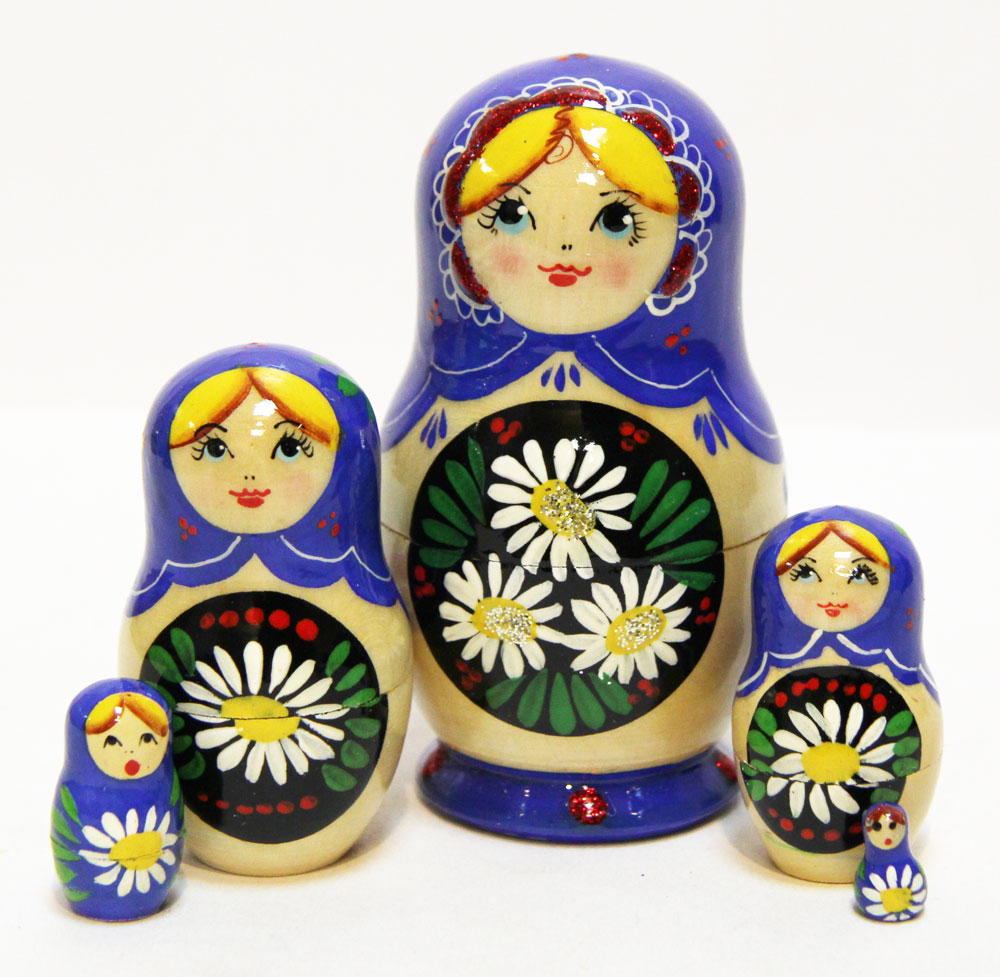 Camomiles Nesting Doll