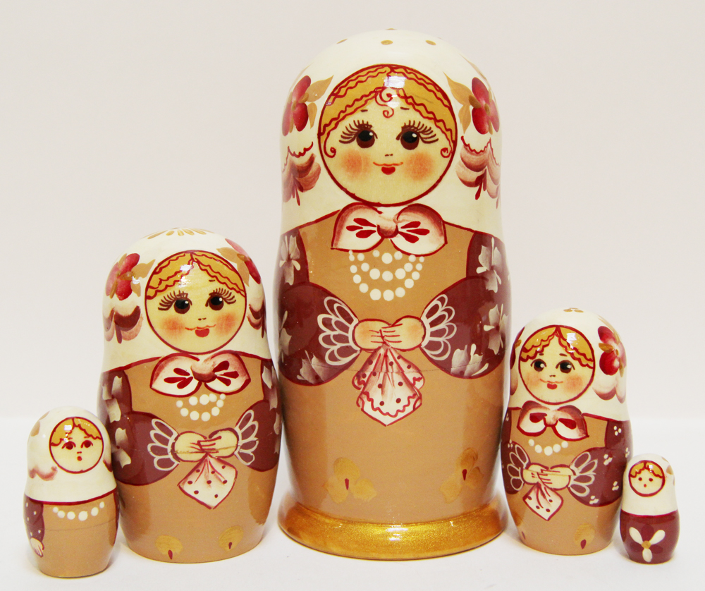 Lace Nesting Doll