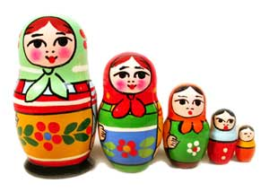 Authentic Nesting Doll