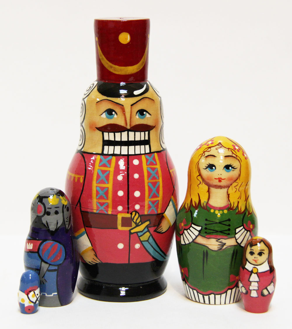 'Nutcracker' Nesting Doll