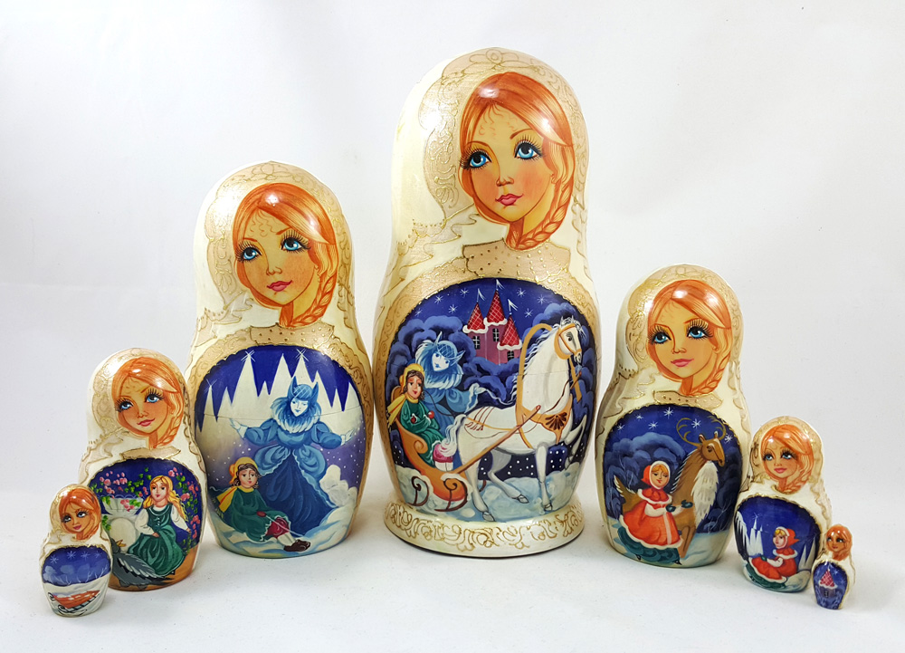 Snow Queen Nesting Doll