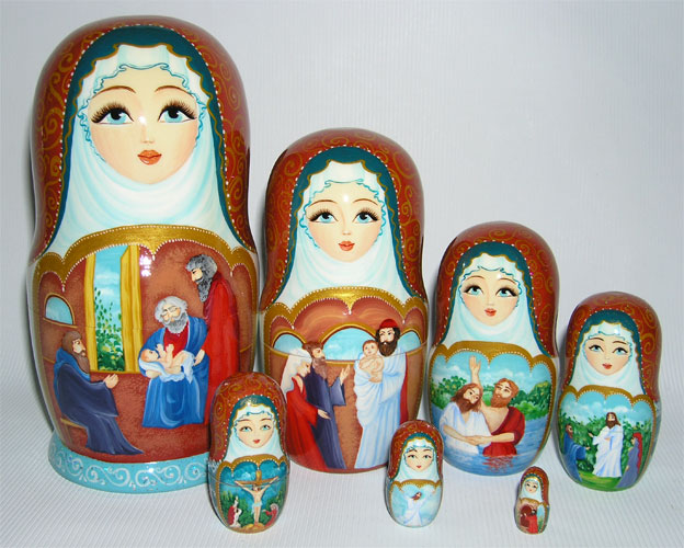"""Christmas (Nativity)"" Matreshka"