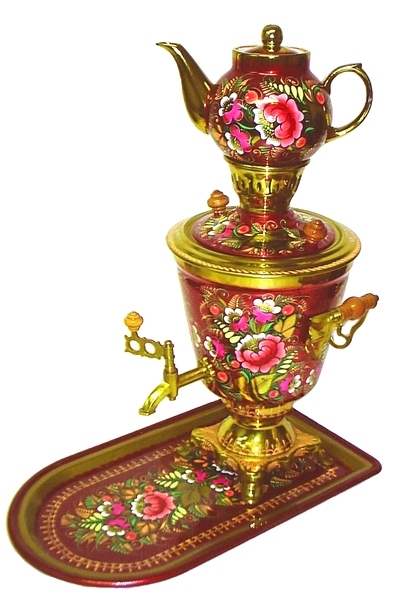'Summer Bouquet' Samovar Set