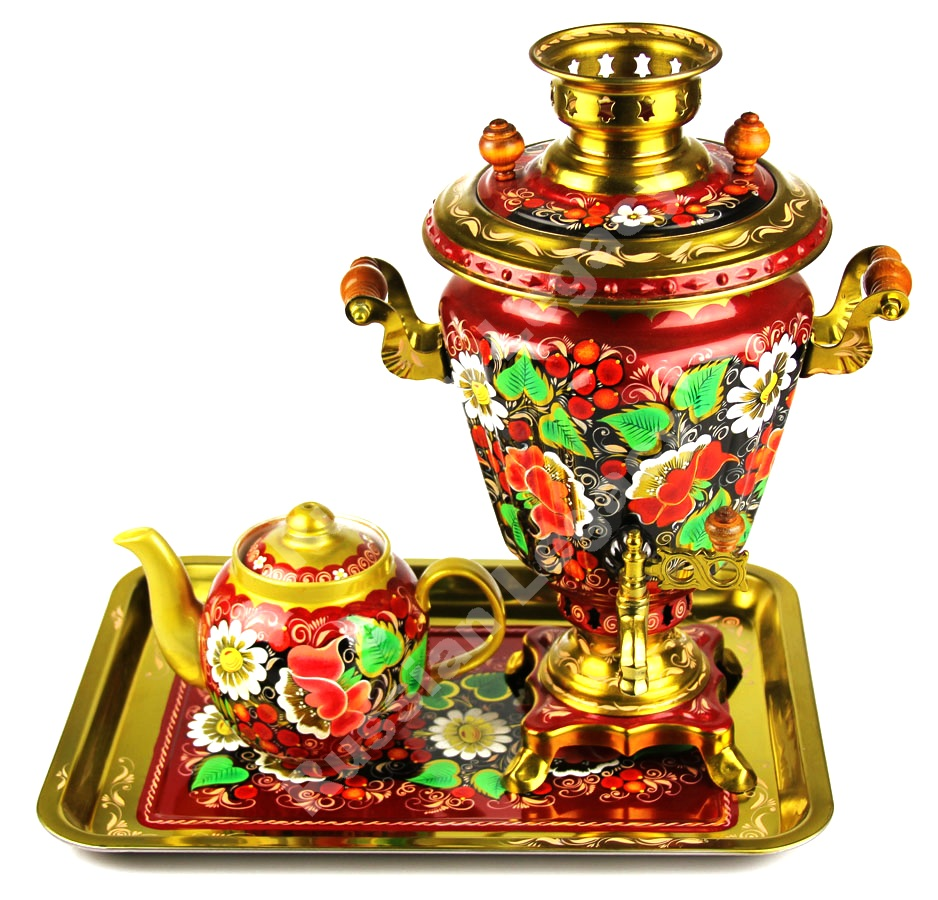 Spring Electric Samovar Set