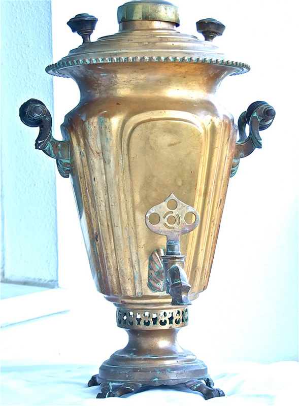 1898 Batashev Antique Samovar