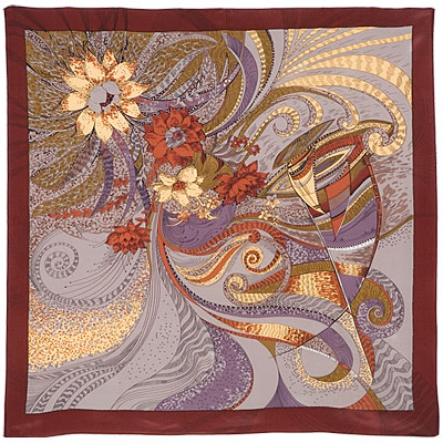 Dreams Pavlovo Posad Shawl