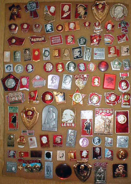 'Lenin' 100 Pins & Badges