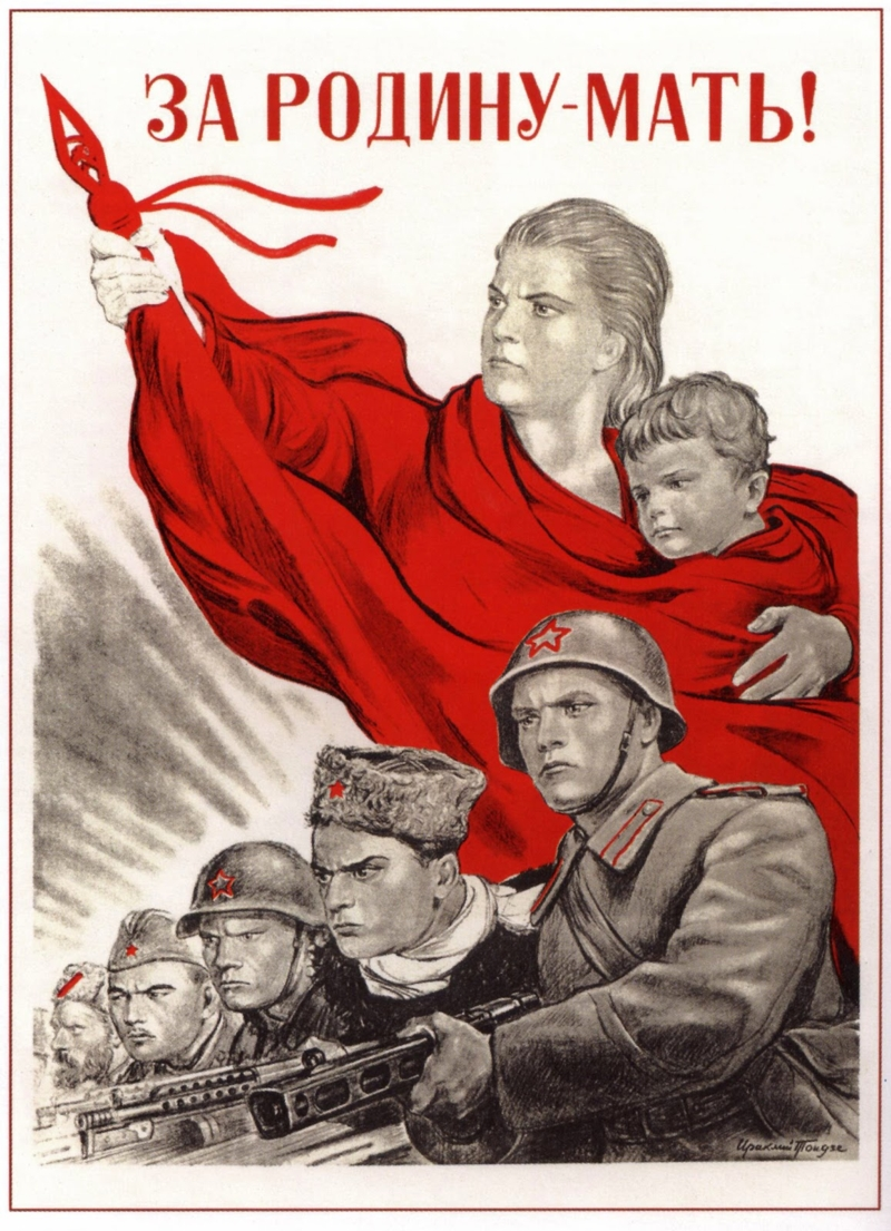 for motherland soviet poster russian legacy