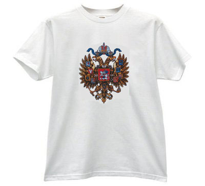 Russian Coat of Arms T-Shirt White
