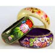 Wooden Hand Painted Bracelet 2