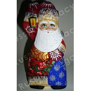 Santa with Bell Carved Figurine 3