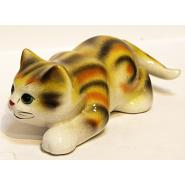 Big Cat Porcelain Figurine 4