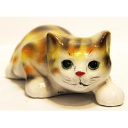 Big Cat Porcelain Figurine 2