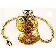 Gold Skeleton Poljot Pocket Watch 2