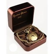 Gold Skeleton Poljot Pocket Watch 4