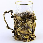 Imperial Eagle Tea Glass Holder 3