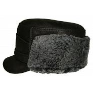 Austrian Style Leather Winter Cap 2