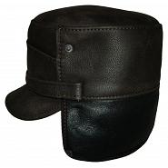Austrian Style Leather Winter Cap 3
