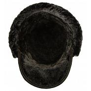 Austrian Style Leather Winter Cap 4