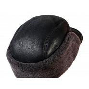 Shearling & Leather Winter Cap 3