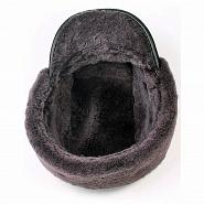 Shearling & Leather Winter Cap 4