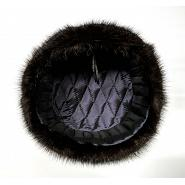 Real Muskrat Fur Ushanka Hat 3