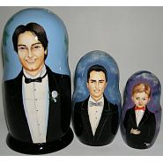 Custom Wedding Favor Matryoshka 2