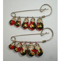 Christmas Decorative Pin Set